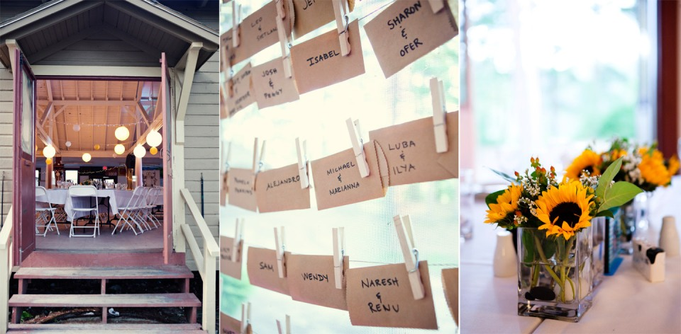 sunflowers melbourne casual rustic wedding