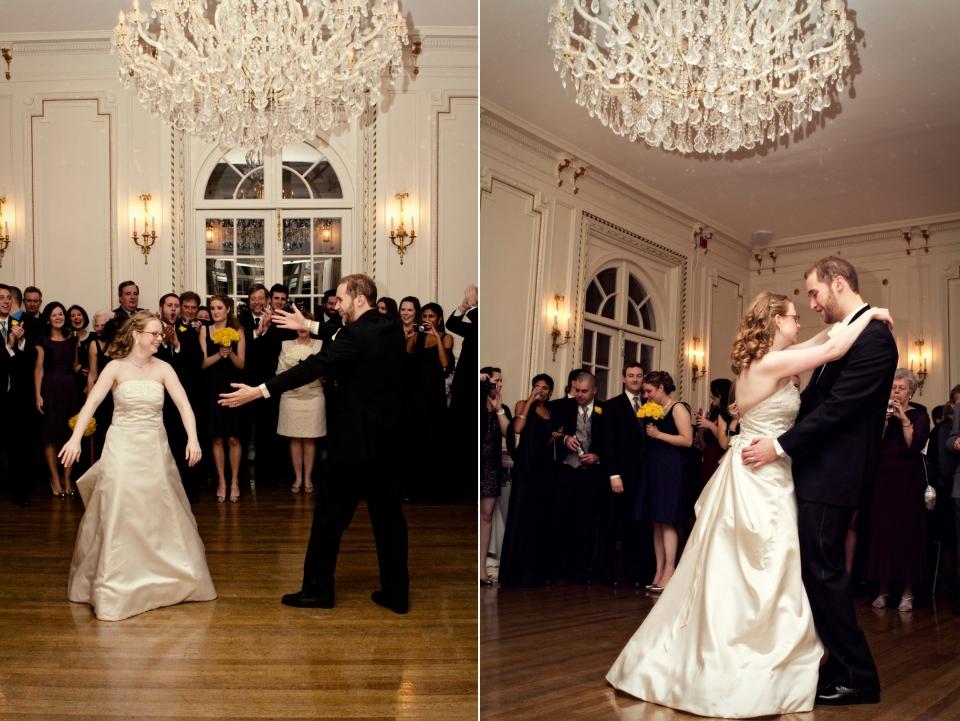 Ballroom Wedding Melbourne first dance