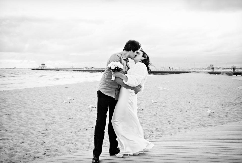 Encore st kilda sea baths Wedding photography