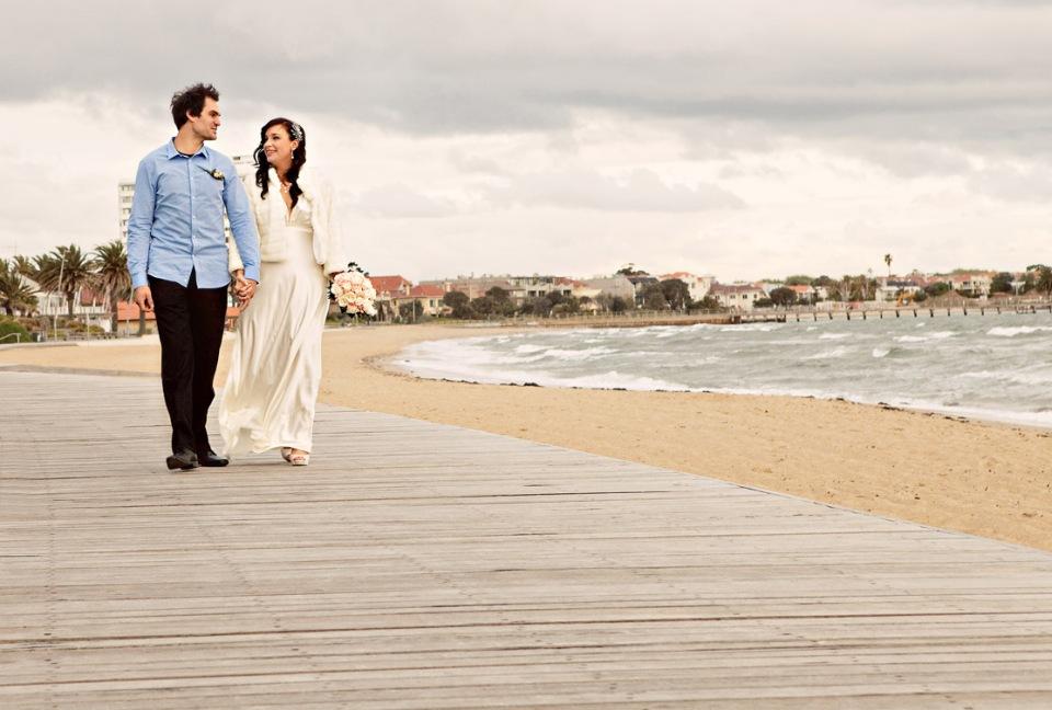 St Kilda Sea Baths Wedding Photography