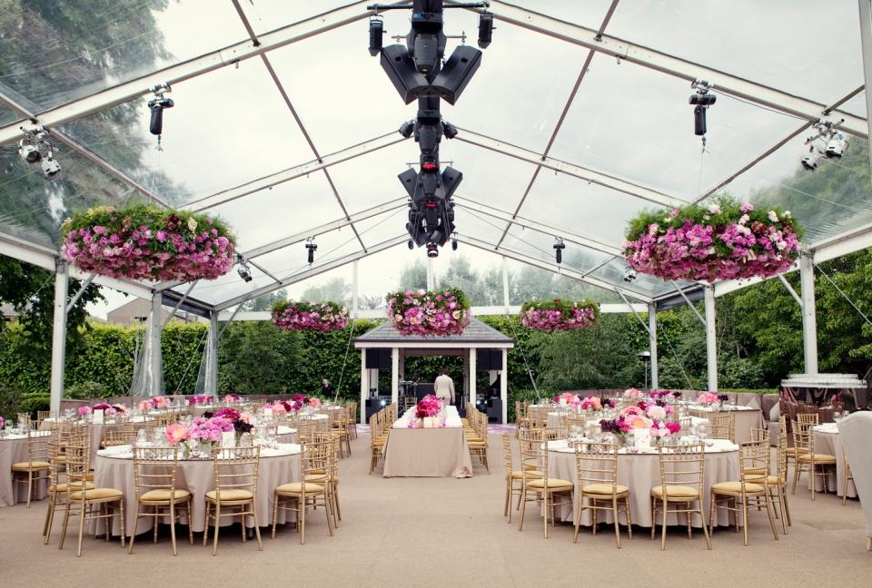 modern marquee, Melbourne Chinese garden wedding, vasette flowers,