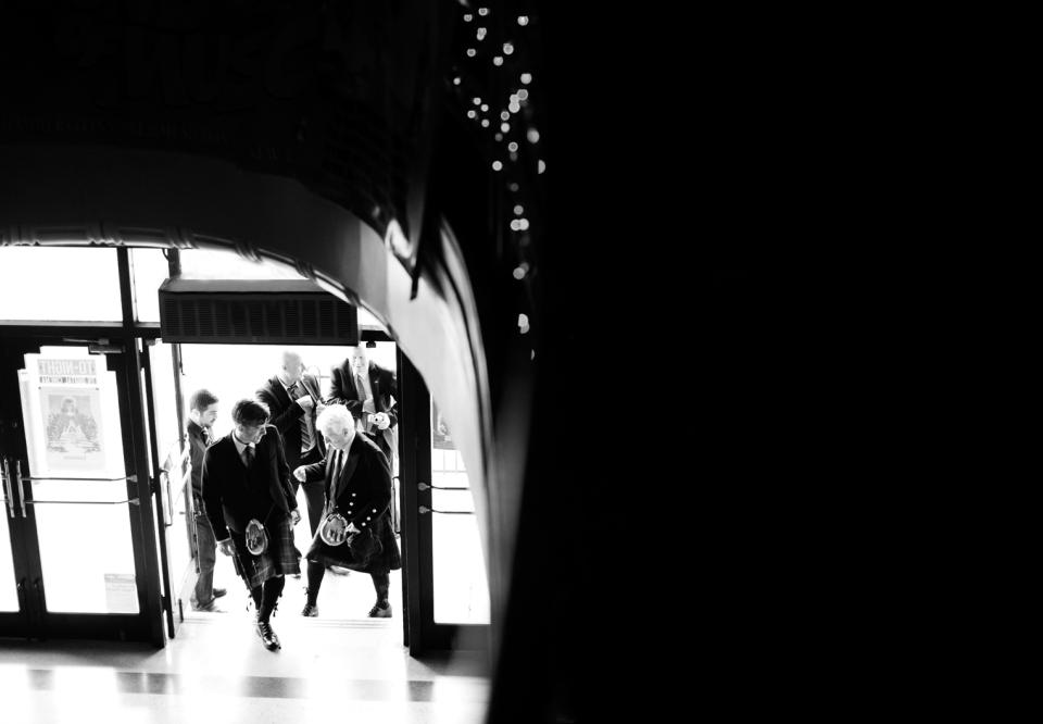 Astor theatre Scottish Wedding photography, St Kilda