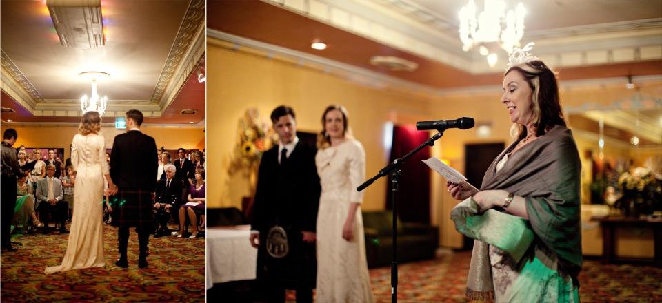 Astor theatre Wedding ceremony, St Kilda