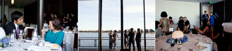 Wedding Reception at The Point, Albert Park, Melbourne