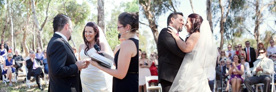 Gargen ceremony, wedding rings