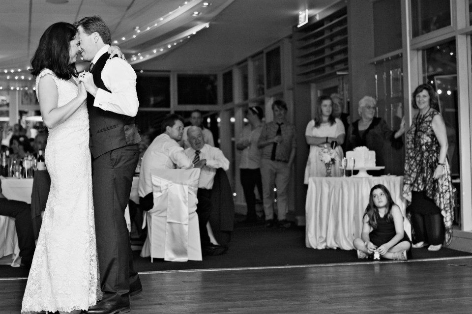 first dance at titzroy Gardens Wedding in The Pavilion