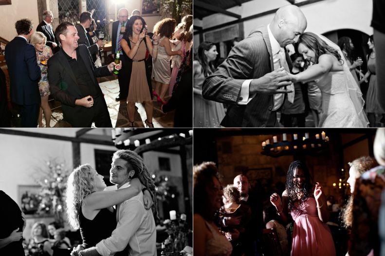 yarra Valley wedding reception, dancing