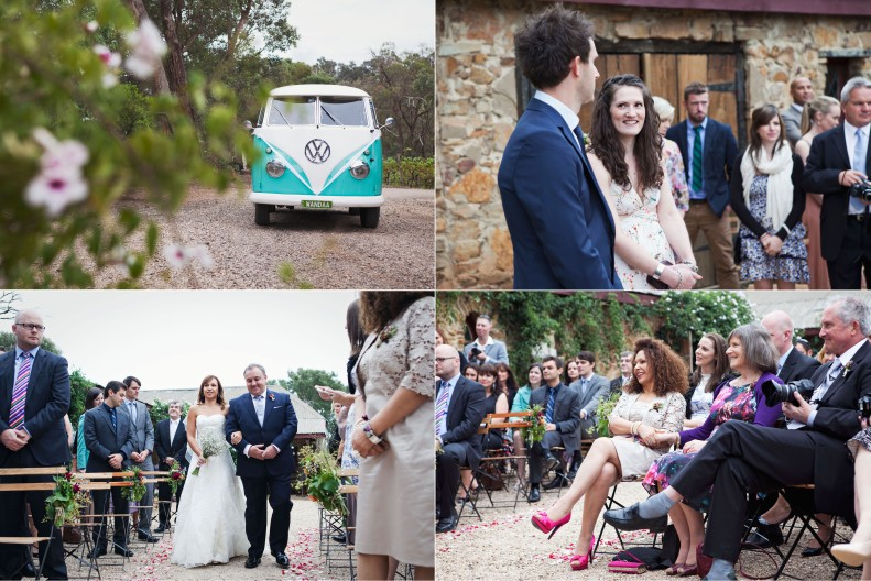 Outdoor Wedding Ceremony at Yarra Valley Winery