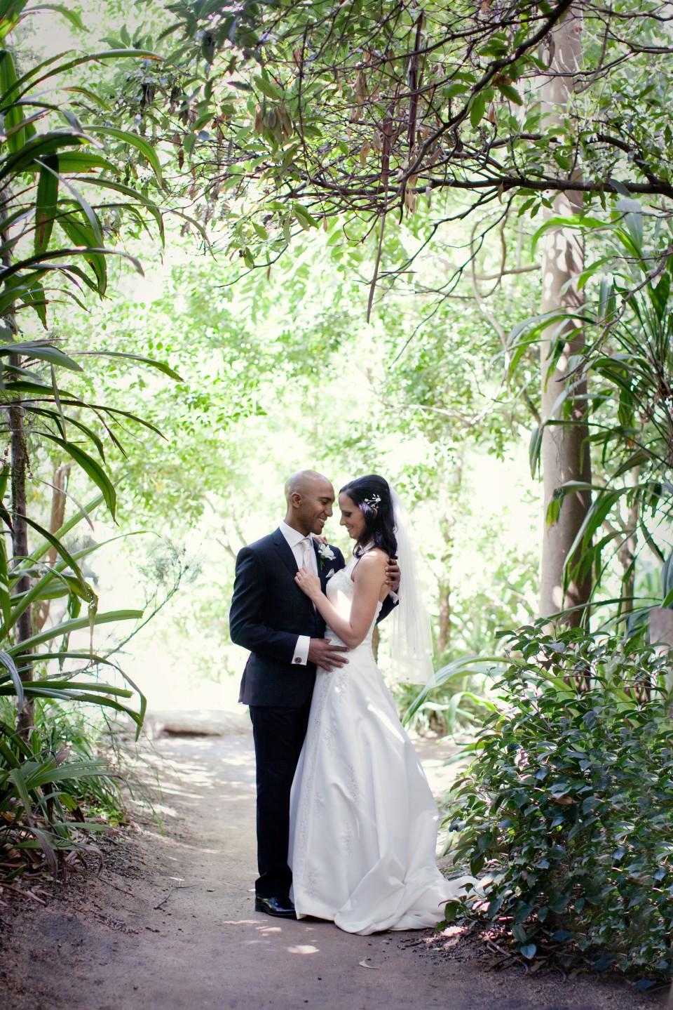 Melbourne outdoor Garden wedding ceremony at unique venue, melbourne zoo