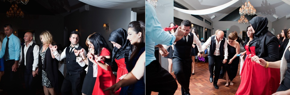 Turkish Dancing photos at meadowbank wedding in Melbourne