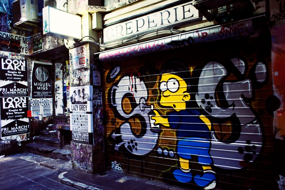 Melbourne graffiti Photos