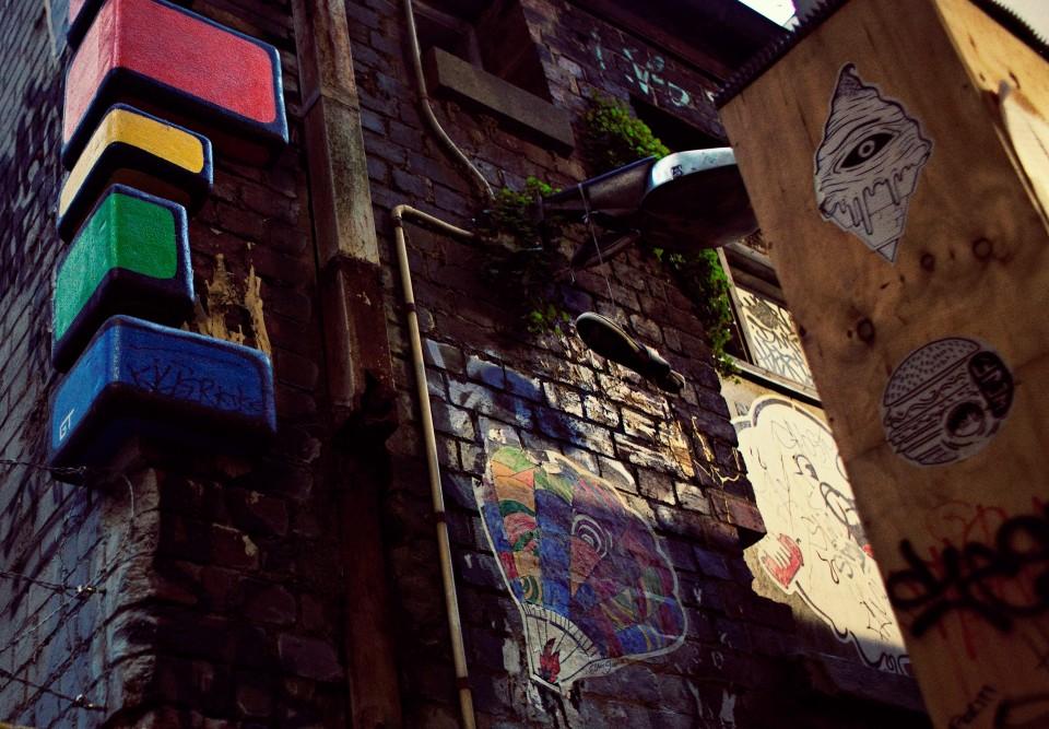 Melbourne urban art and graffiti Photographer
