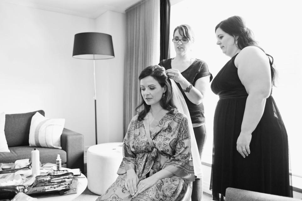 Como Hotel wedding in South Yarra, Melbourne