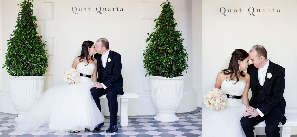 Quat Quatta Wedding Photography, Natural photos of bride and groom
