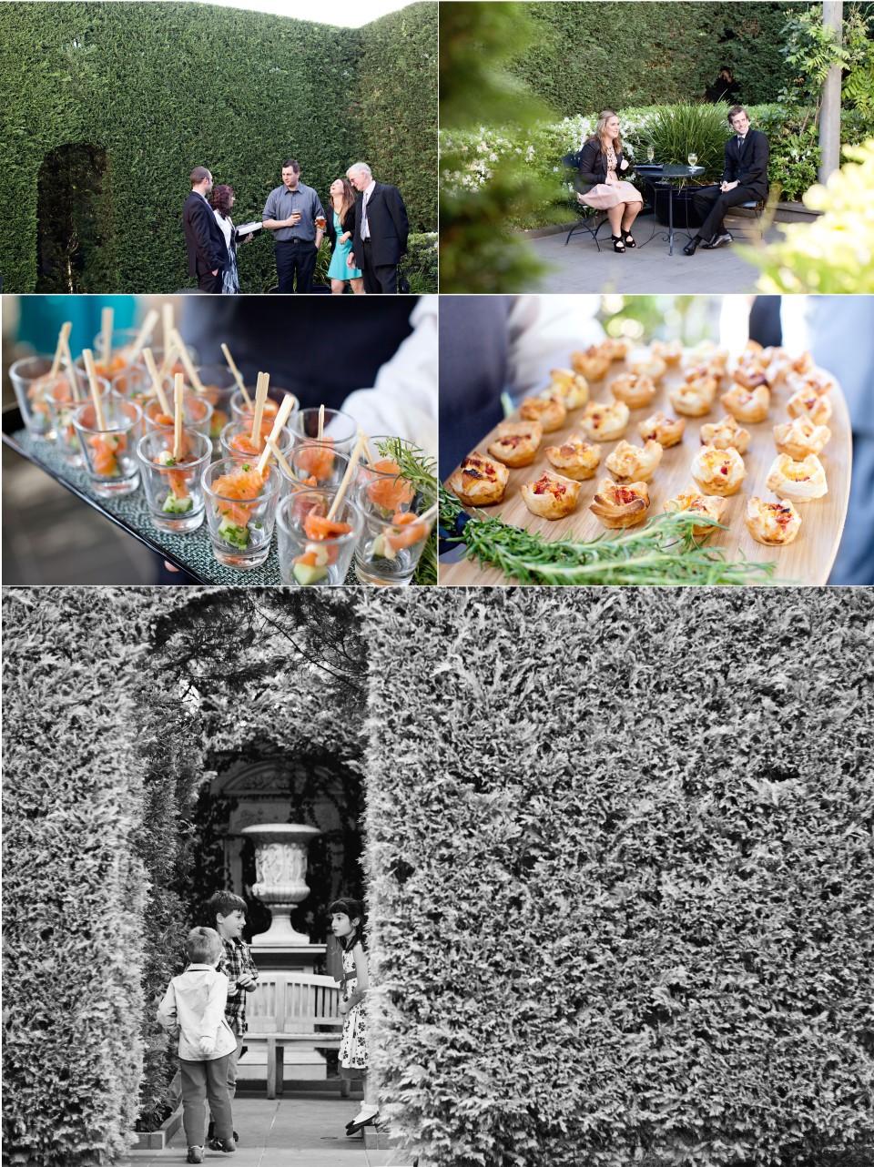 Quat Quatta Wedding Photography, cocktail hour, food