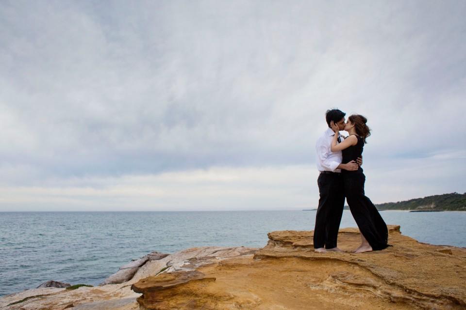 Melbounre bay pre wedding photography