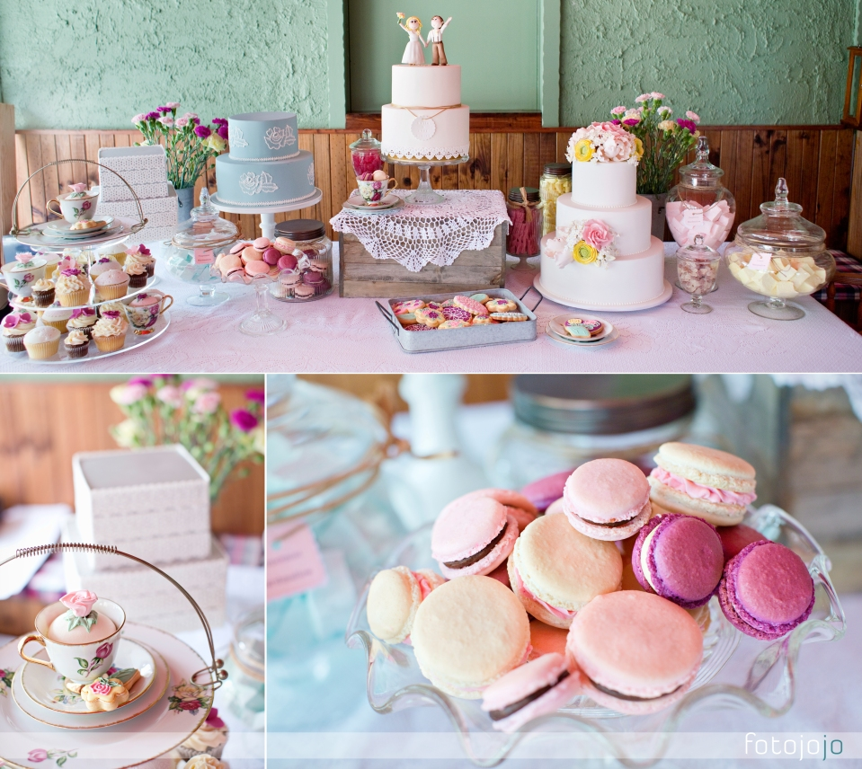 food photographer, wedding dessert table