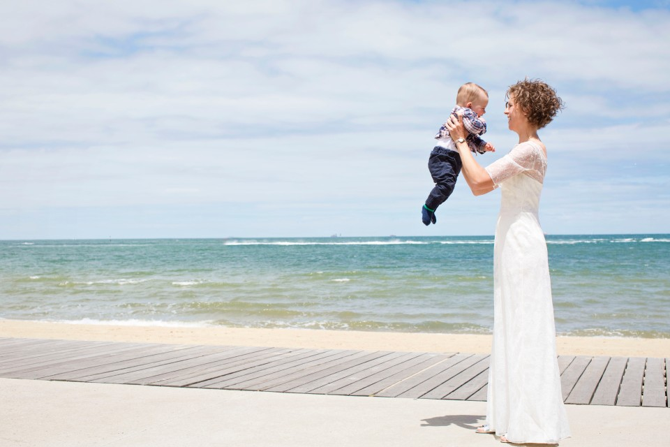 St Kilda Sea Baths Wedding Photos