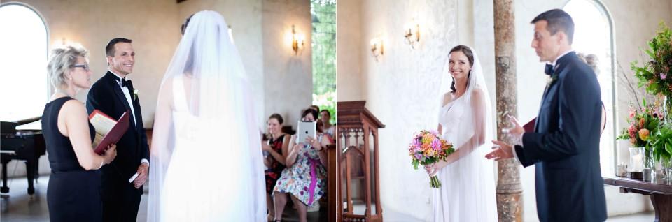 Yarra Valley wedding ceremony photos