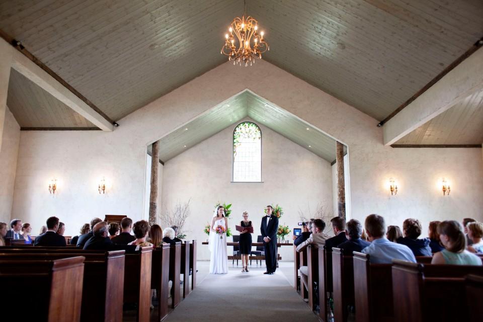 yering station yarra valley wedding ceremony