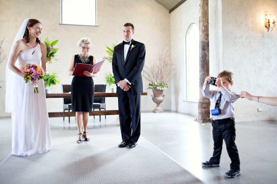 Yarra Valley ceremony - candid photography of guest