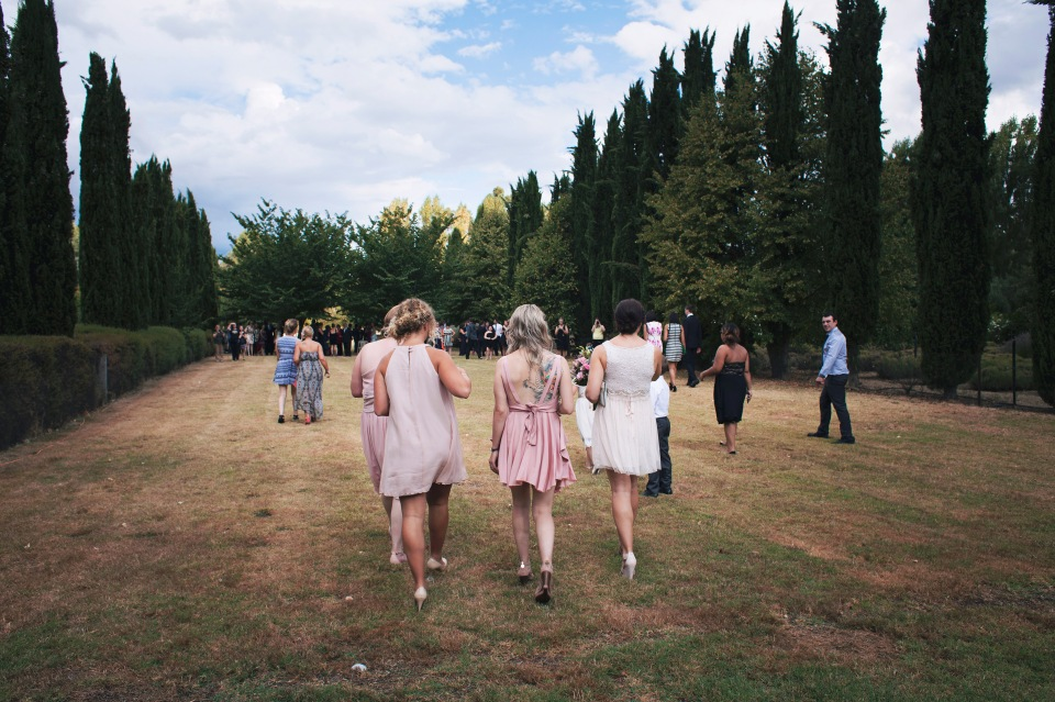 Lavandula swiss Italian farm wedding ceremony