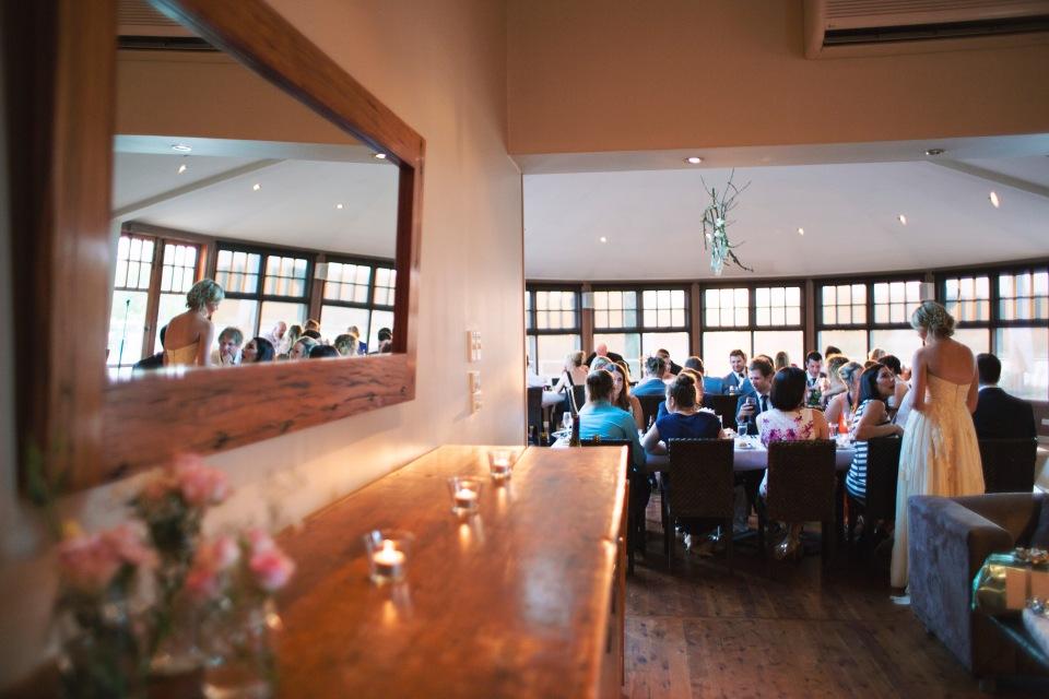 sault Daylesford wedding reception