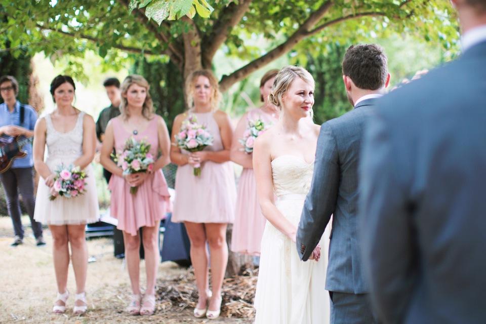 Lavandula and Sault wedding photos in Daylesford