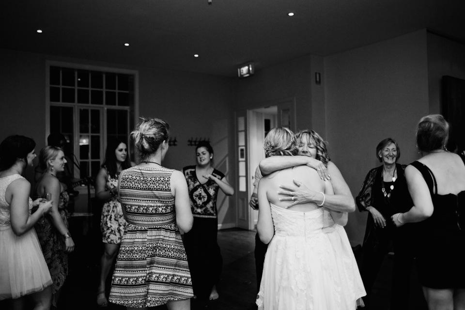 sault wedding reception