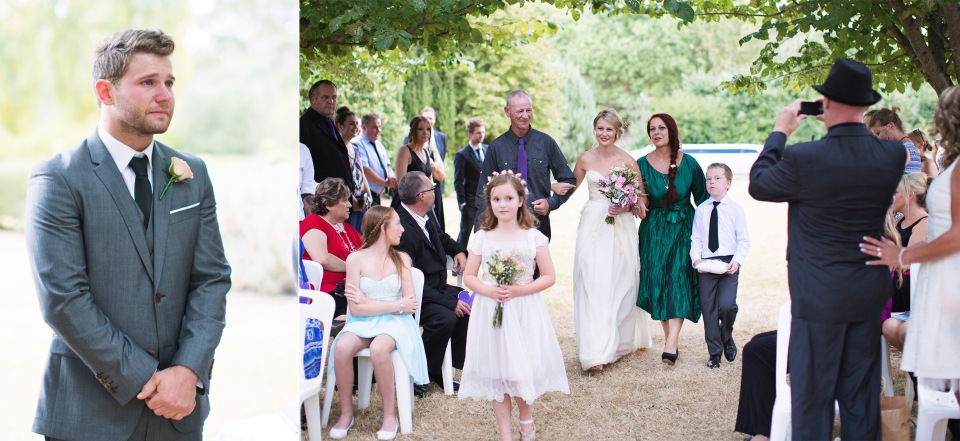 emotional Daylesford Wedding