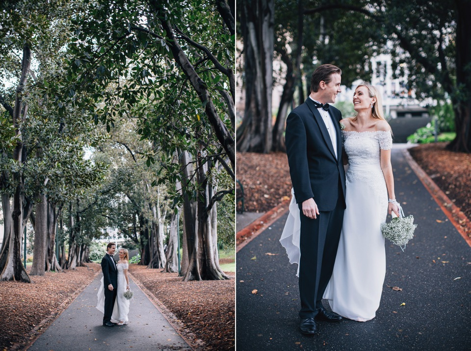 Melbourne elopement - treasury gardens