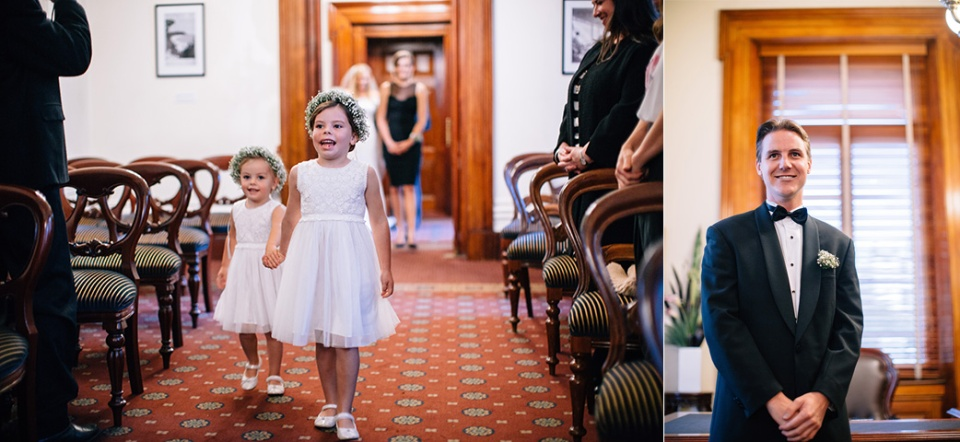 treasury building wedding photography