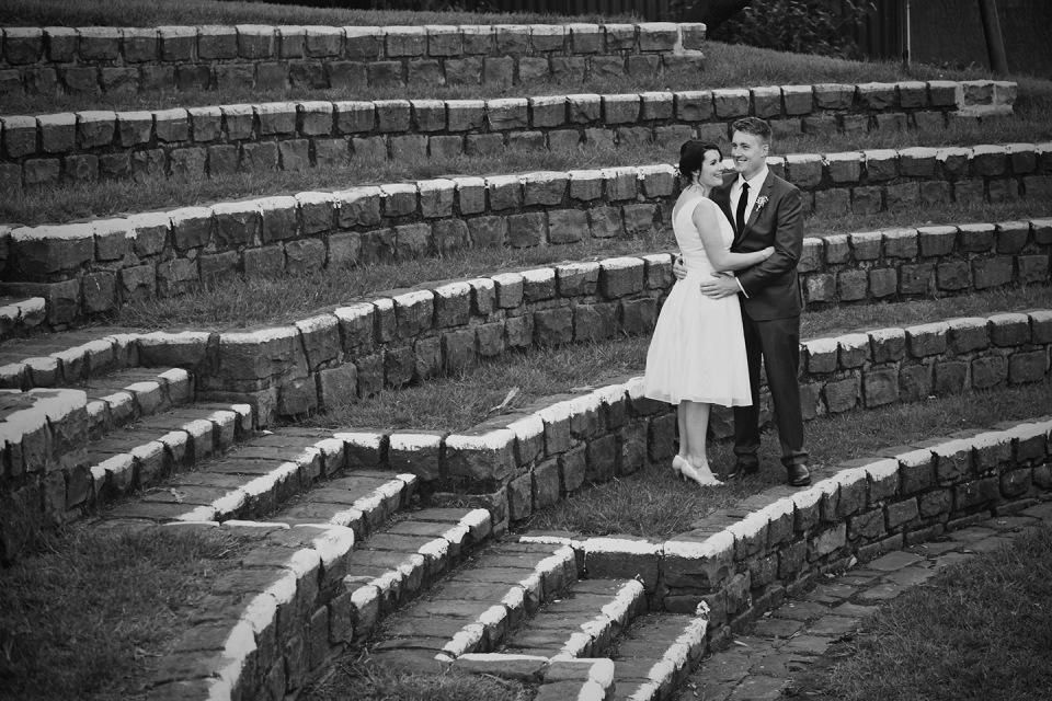 Footscray community art centre amphitheater wedding