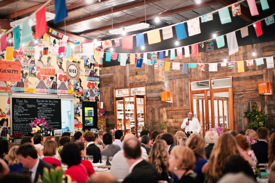 Melbourne industrial wedding venue - raw materials studio