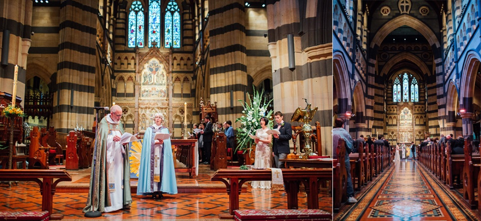 St Pauls and chapter house wedding