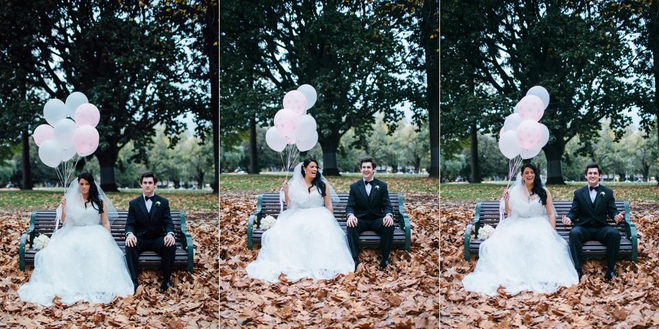 fun wedding photography in Melbourne