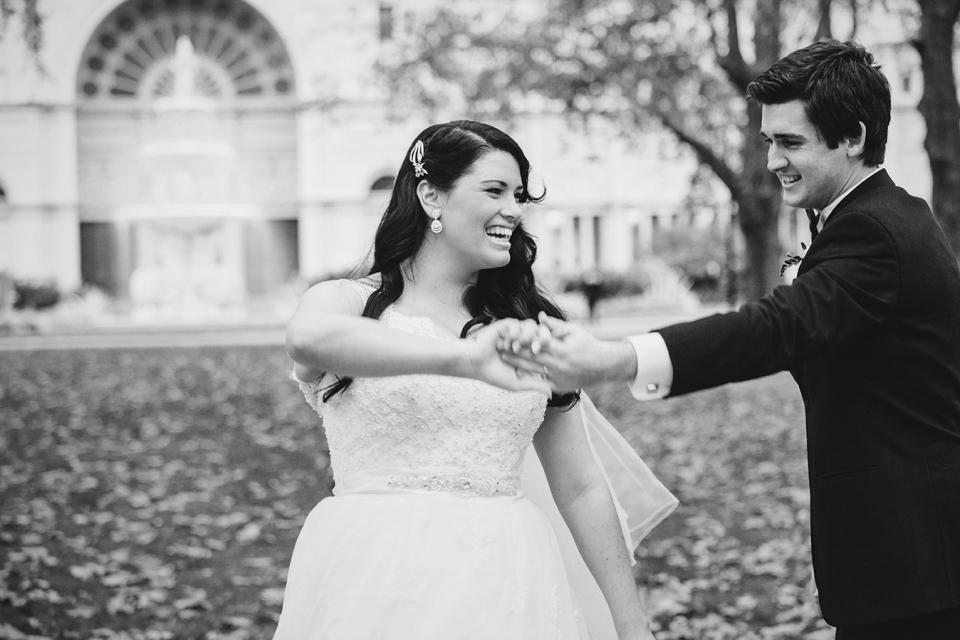 Carlton gardens natural wedding photography