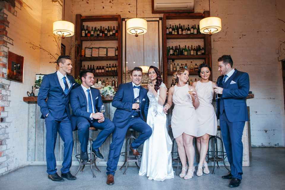 Fotojojo | wedding party in the Stones Barn | Yarra Valley