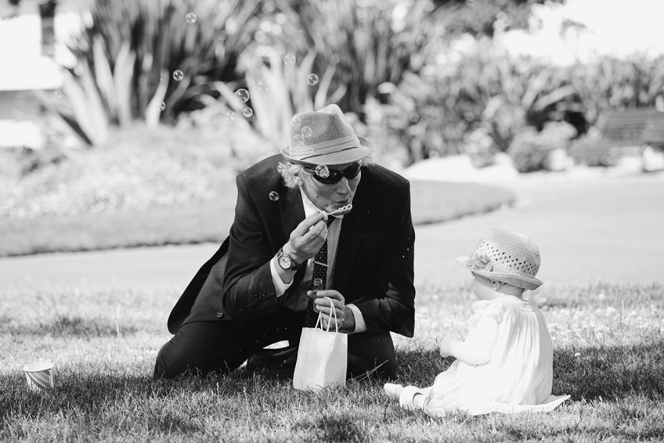 Fitzroy gardens wedding natural photos