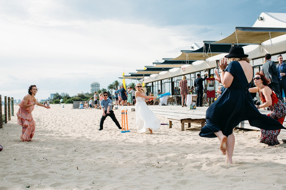 Bathers beach pavilion wedding photos