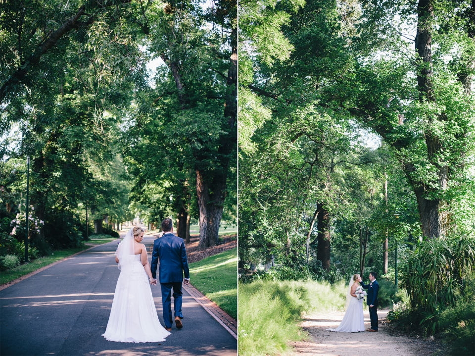 Wedding photos in Melbourne's Fitzroy Gardens | fotojojo