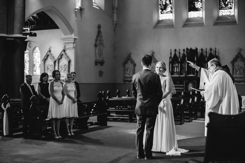 South Melbourne church wedding photos