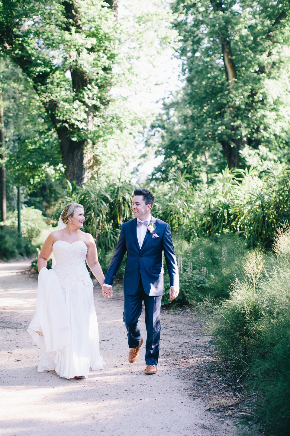 Fitzroy Gardens wedding photography