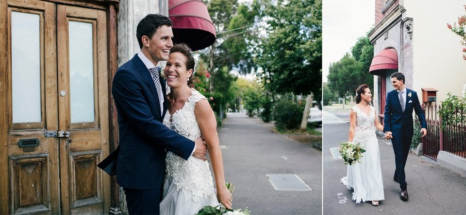 South Melbourne natural wedding photography