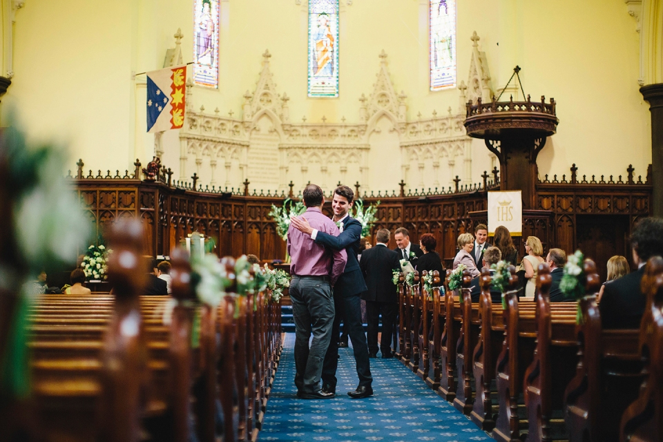 Scots church wedding