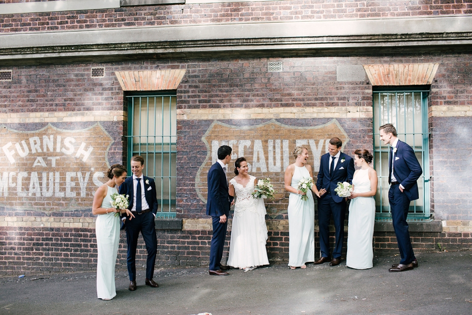 Wedding Party in South Melbourne